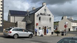 The pub where the incident happened in Armoy