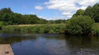 The man was found in water near Shaw's Bridge in Belfast