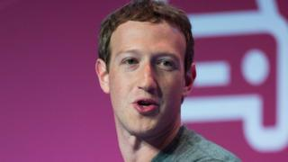 Mark Zuckerberg, director de Facebook