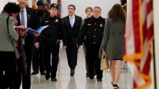 Cohen arrives