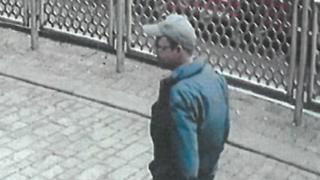 CCTV image of victim