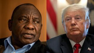 Ramaphosa and Trump