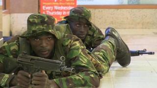 حمله الشباب به هتلی در نایروبی