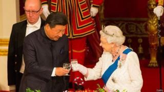 中國國家主席習近平2015年10月對英國國事訪問