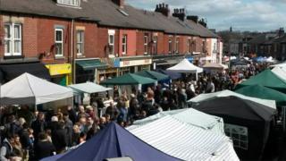 Sharrow Vale Market