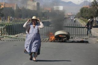 protestas en El Alto