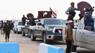Військові загони, які підтримують президента Сирії Башара Асада, увійшли до курдського анклаву Афрін на півночі Сирії