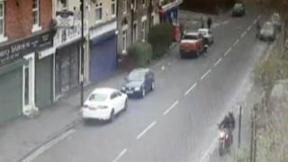 CCTV footage of robbery suspects