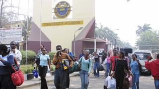 University of Lagos gate.