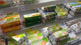 台湾的有关部门说,受到芬普尼污染的鸡蛋并没有流入市面。