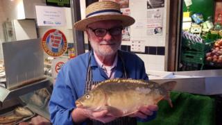 Fishmonger Kevin Little