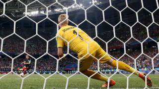 Luka Modric'in kaçırdığı penaltı