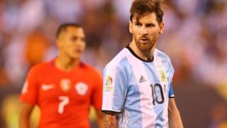 Messi y Alexis Sánchez