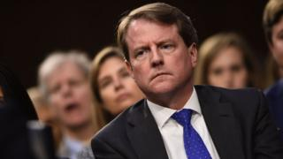 White House Counsel Don McGahn