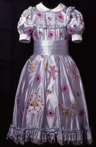 Grayson Perry's Claire's Coming Out Dress, 2000, Nottingham City Museums and Galleries Collection