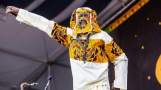 Lagbaja dey perform for New Orleans Jazz Festival