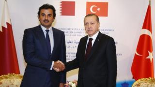 Cumhurbaşkanı Erdoğan ve Katar Emiri el Tani