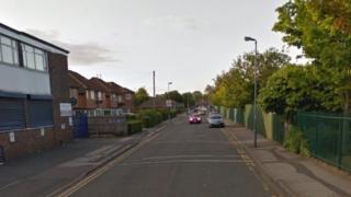 Percy Road in Sparkhill, Birmingham