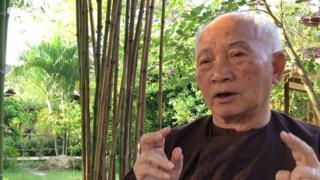 Ông Đỗ Quý Toàn nói về thơ văn thời Lý, Trần tại Tu viện Làng Mai, Thái Lan