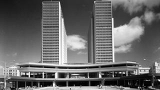 Las torres del Centro Simón Bolívar
