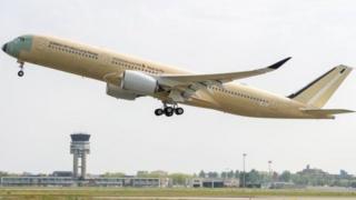 El avión A350-900 ULR de Singapore Airlines