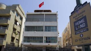Посольство Турции в Тель-Авиве, 2012 год