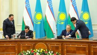 Nazarboyev va Mirziyoyev