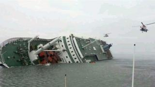 Sewol ferry capsized