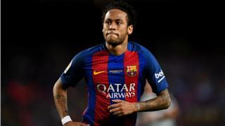 Dan wasa Neymar
