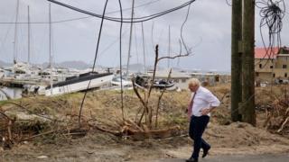 Boris Johnson in British Virgin Islands