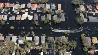 Katrina Kasırgası sonrası New Orleans