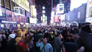 Celebración en Nueva York.