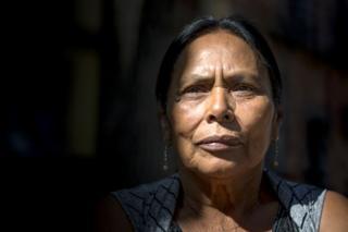 Carmen Muñoz, criadora da Casa Xochiquetzal