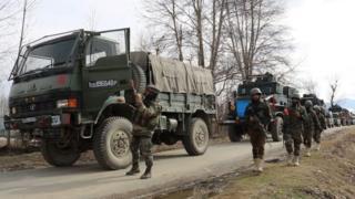 کشمیر میں سکیورٹی میں اضافہ