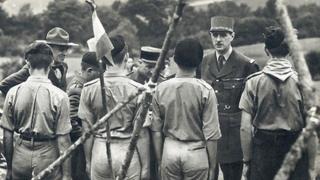 Charles de Gaulle yn Sir Ddinbych yn 1940