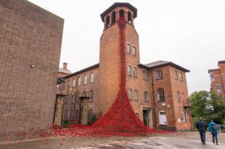 Weeping Window at the Silk Mill