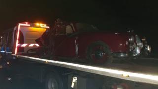 A50 crash