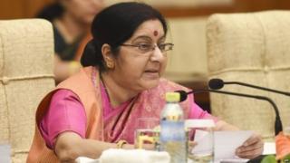 विदेश मंत्री सुषमा स्वराज