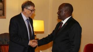 Magufuli na Bill Gates