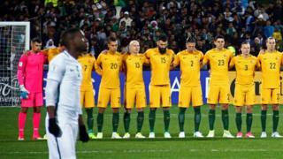 Un minuto de silencio que fue ignorado por la selección de Arabia Saudita