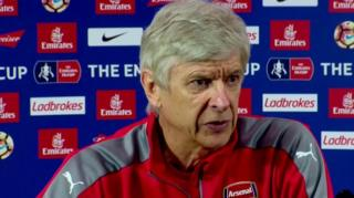 Arsene Wenger wa Arsenal