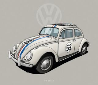 "VW Beatle - ""Herbie"""