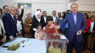 Erdoğan ve torunu