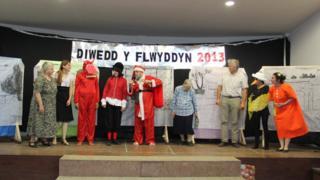 Cyngerdd diwedd blwyddyn Ysgol Feithrin y Gaiman
