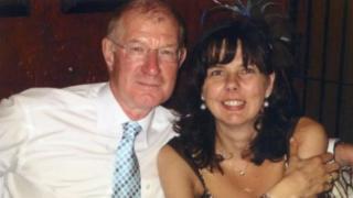 John Sinfield and Helen Bailey