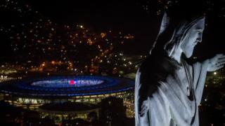 Cristo Redentor y Estadio Maracaná