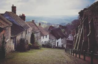 Gold Hill in Shaftesbury