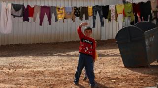 Fògarraich à Siria