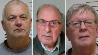 Philip Worthington, Trevor Worthington and William Tomkinson
