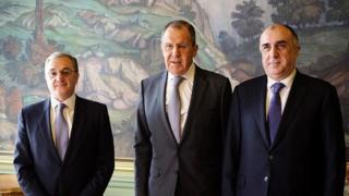 Mnatsakanyan, Lavrov, Məmmədyarov